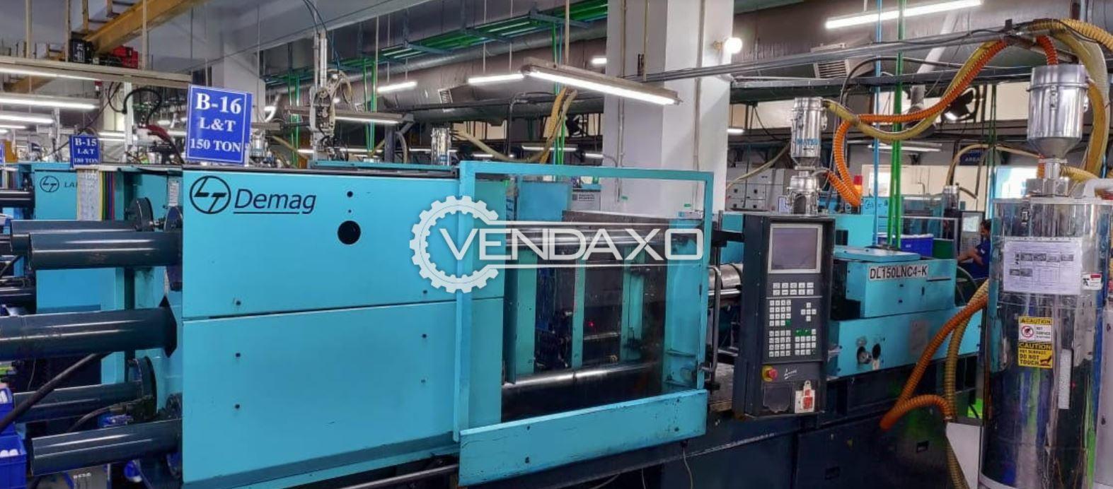 3 Set of L&T Demag DT100-535LNC4E Injection Moulding Machine - 100 & 150 Ton