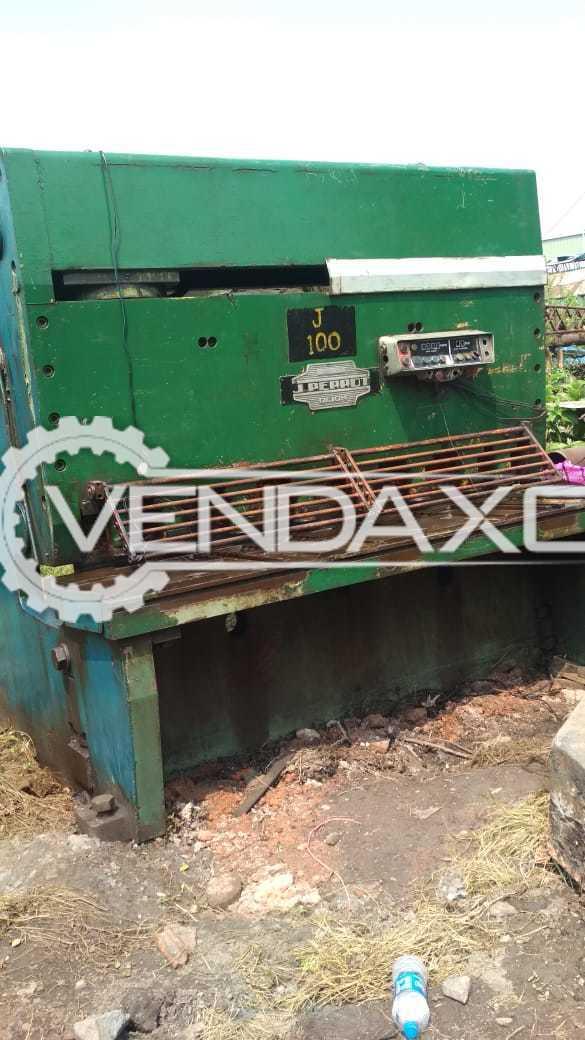 Jean Perrot Hydraulic Shearing Machine - 2000 x 20 mm