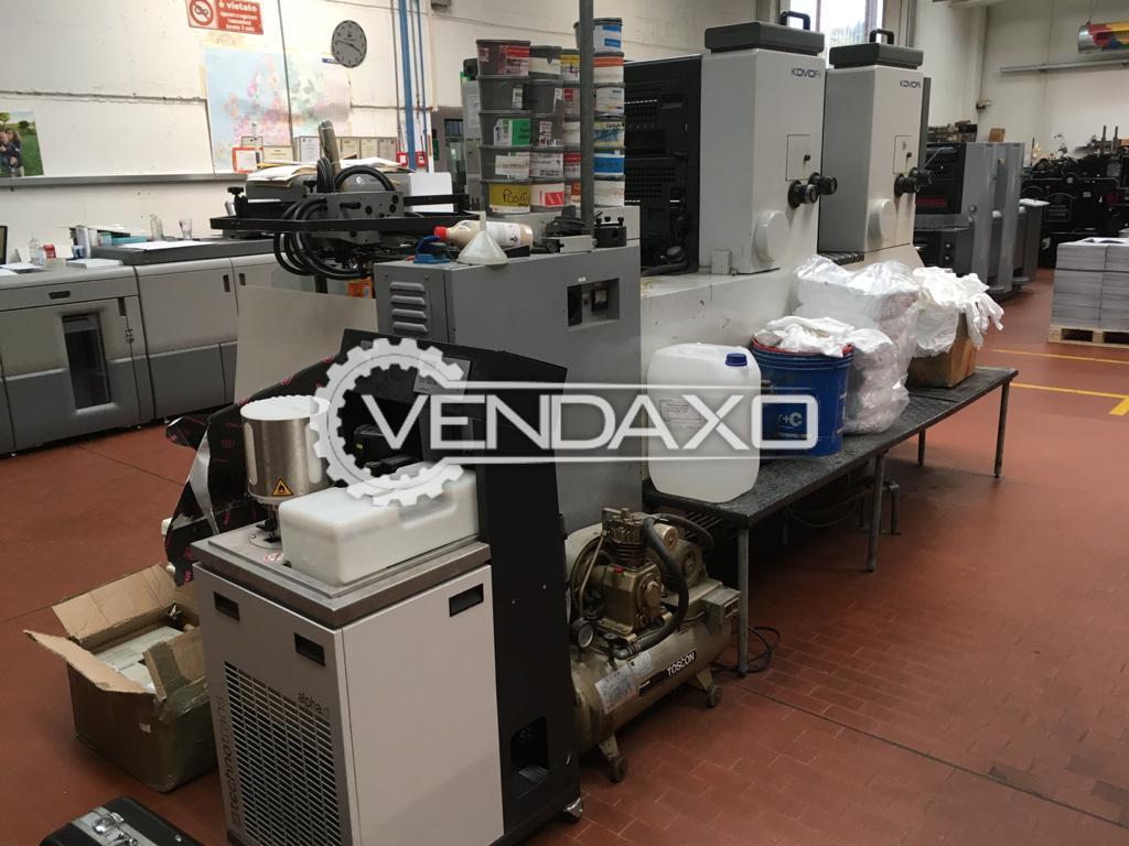 Komori Sprint 228 Offset Printing Machine - 20 x 28 Inch, 2 Color