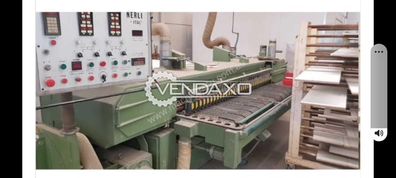 Nerli (Italy) Cross Belt Sanding Machine