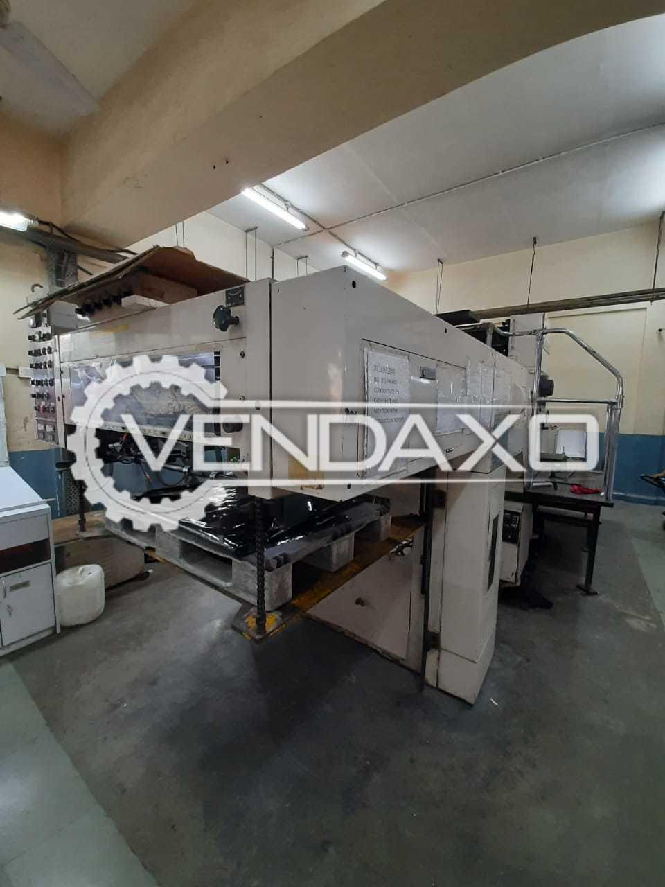 2 Set of Mitsubishi III 3DP Offset Printing Machine - 28 x 40 Inch, 2 Color