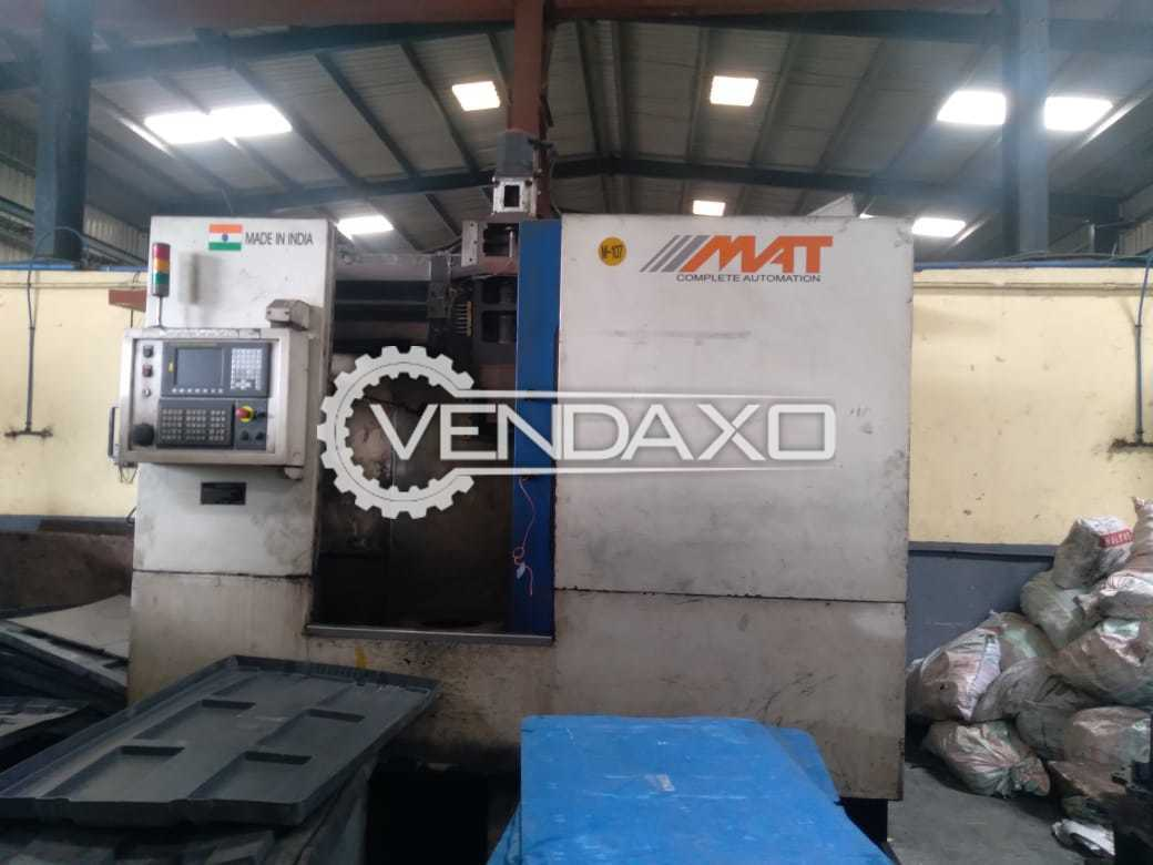 MAT CNC Vertical Turning Lathe VTL - Chuck Size - 500 mm