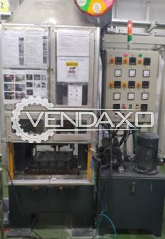 2 Set of Satish Industries Compression Moulding Machine - 150 Ton, 2008 Model