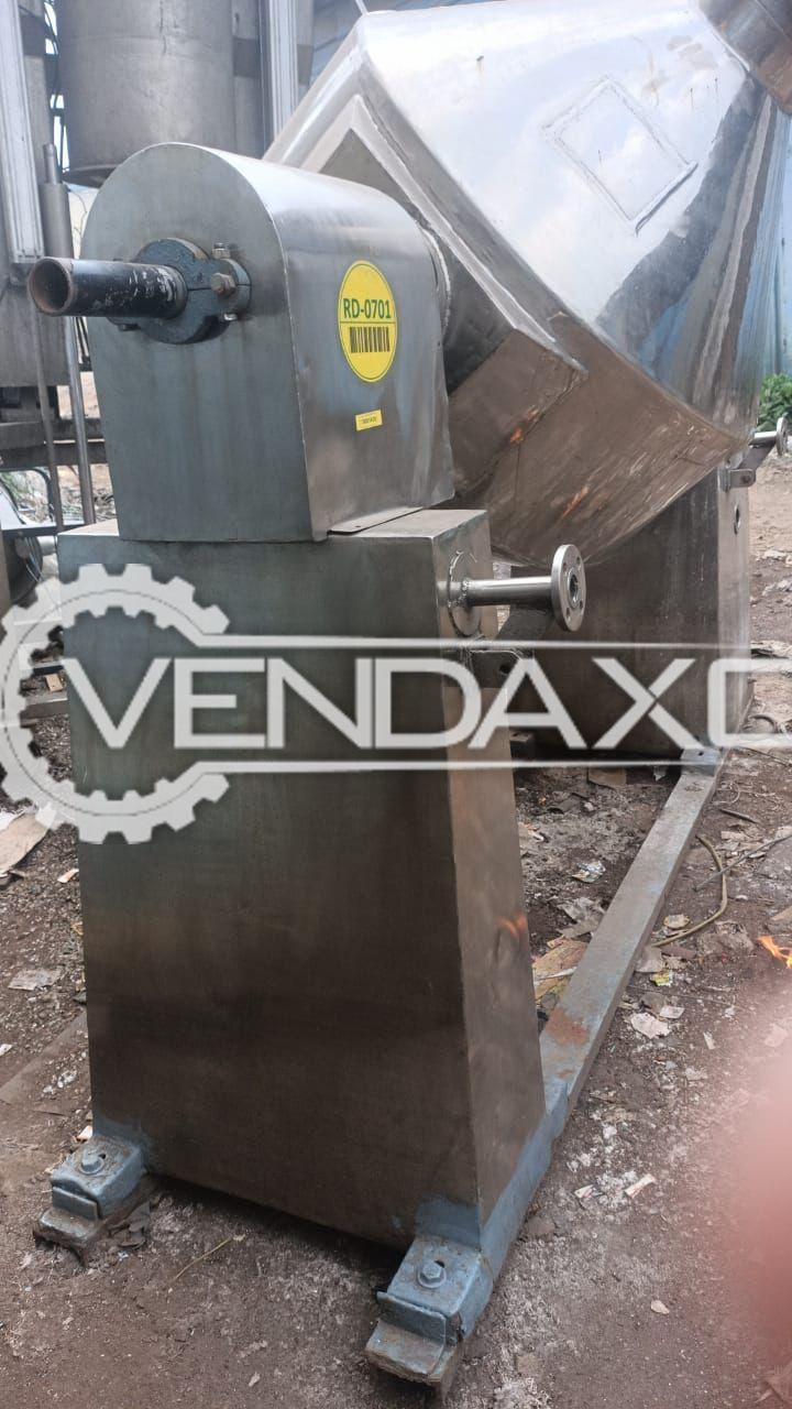 Roto Cone Vacuum Dryer (RCVD) - 500 Liter