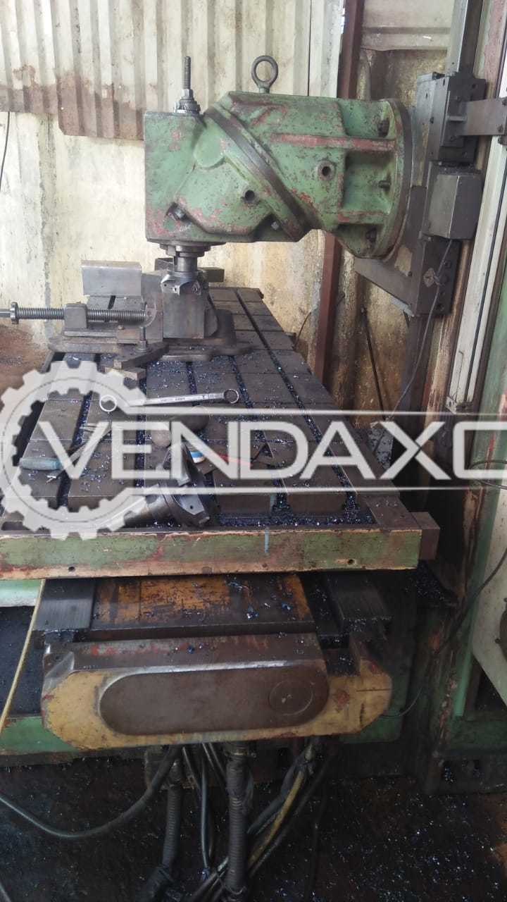 Bed Milling Machine - Bed Size - 2200 x 700 mm