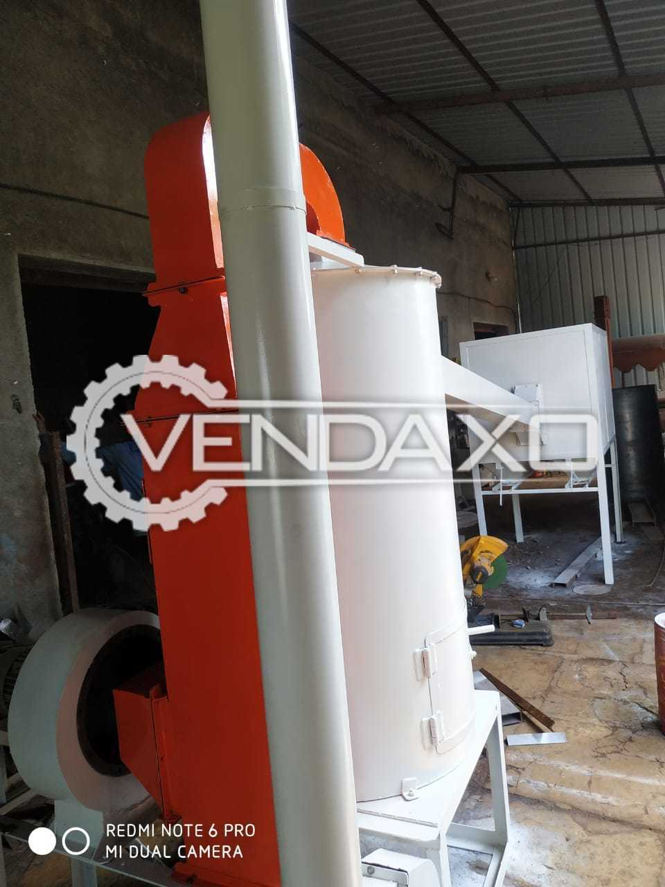 Besan Plant - 15 HP, Impact Pulverizer, Vibro Sifter - 36 Inch & Pulse Dryer - 4 HP