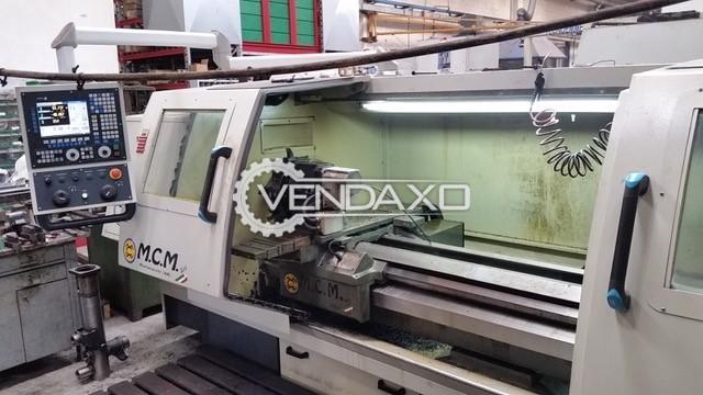 M.C.M. ATL-GIOTTO CNC Lathe Machine