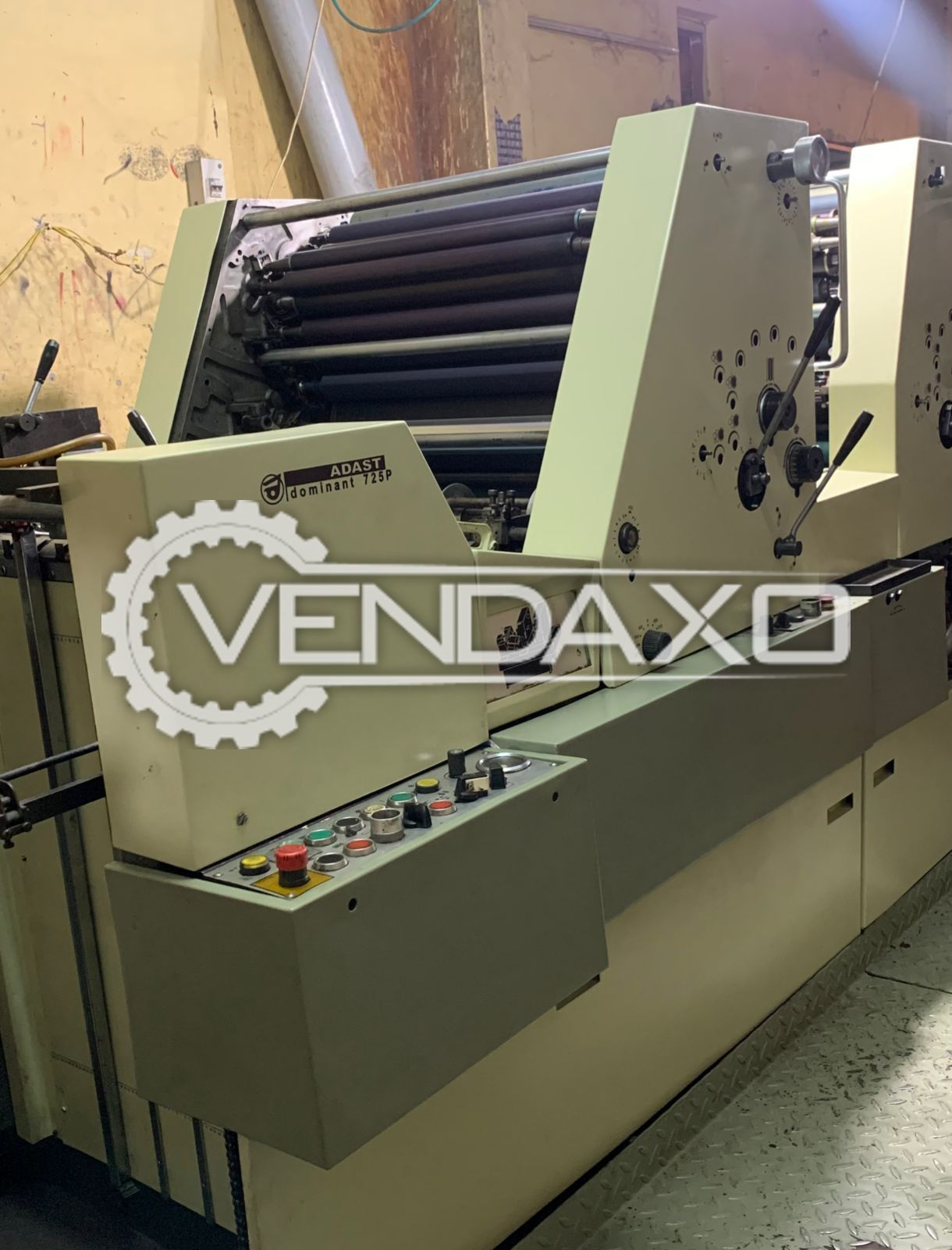 Adast Dominant 725P Offset Printing Machine - 19 X 26 Inch, 2 Color