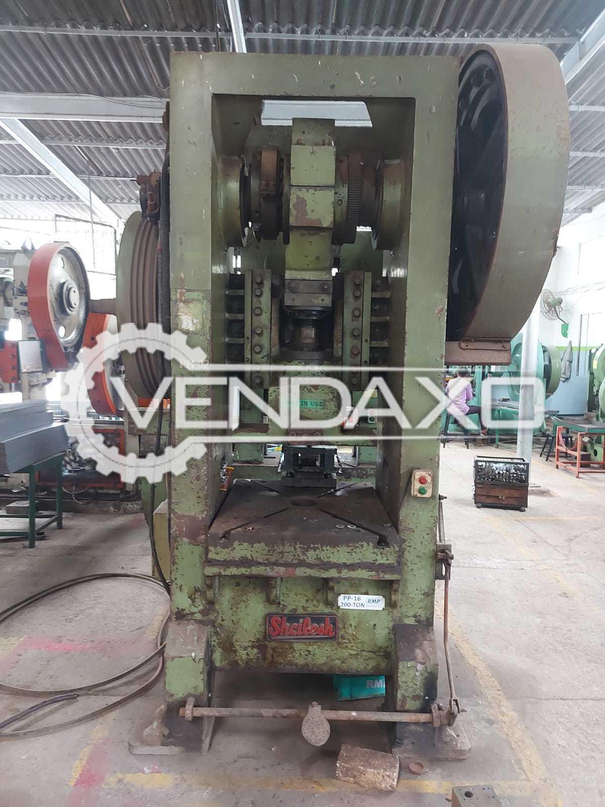 2 Set of Shailesh H Type Power Press - 200 Ton