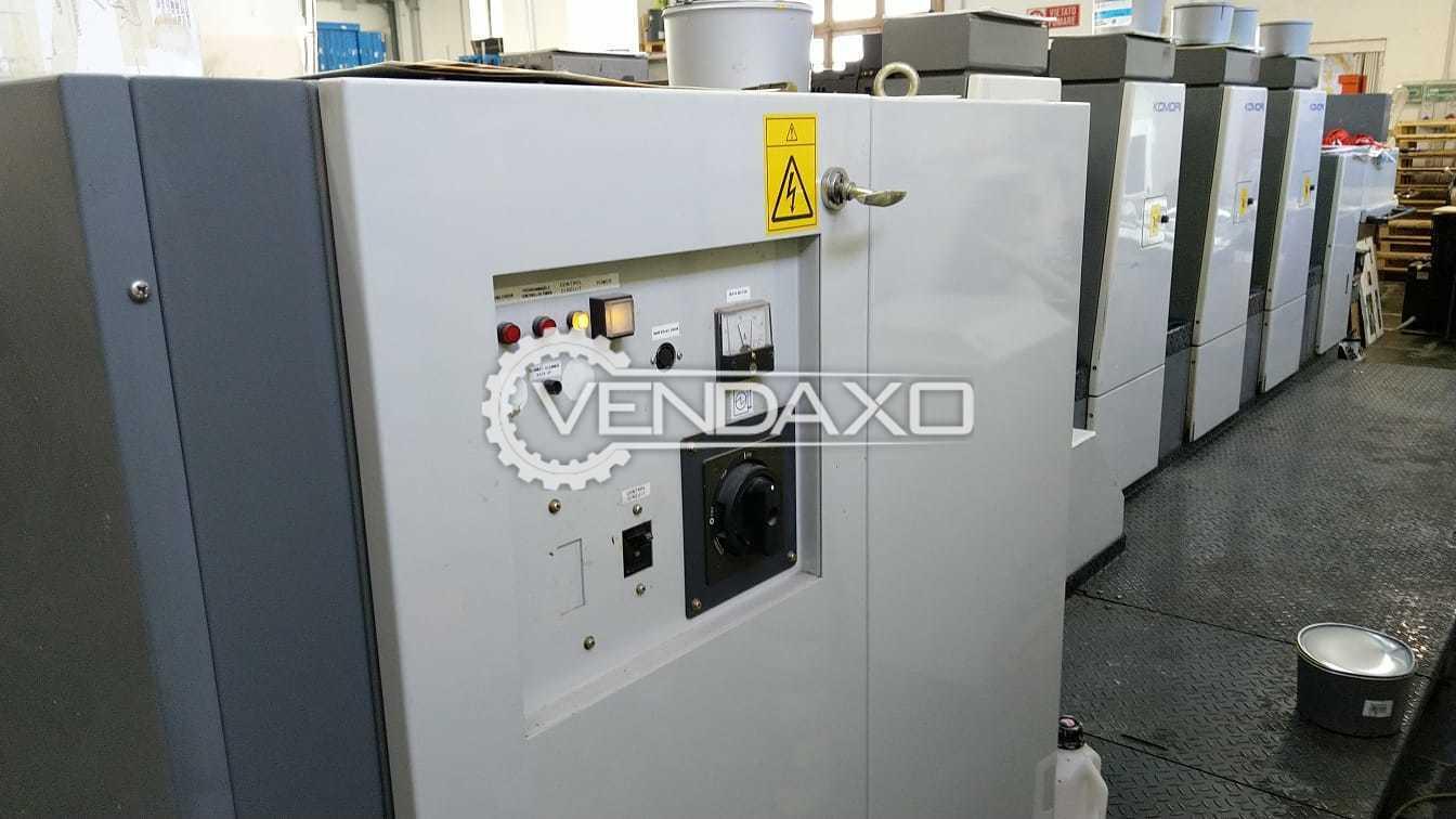 Komori Lithrone 428 Offset Printing Machine - 20 X 28 Inch, 4 Color