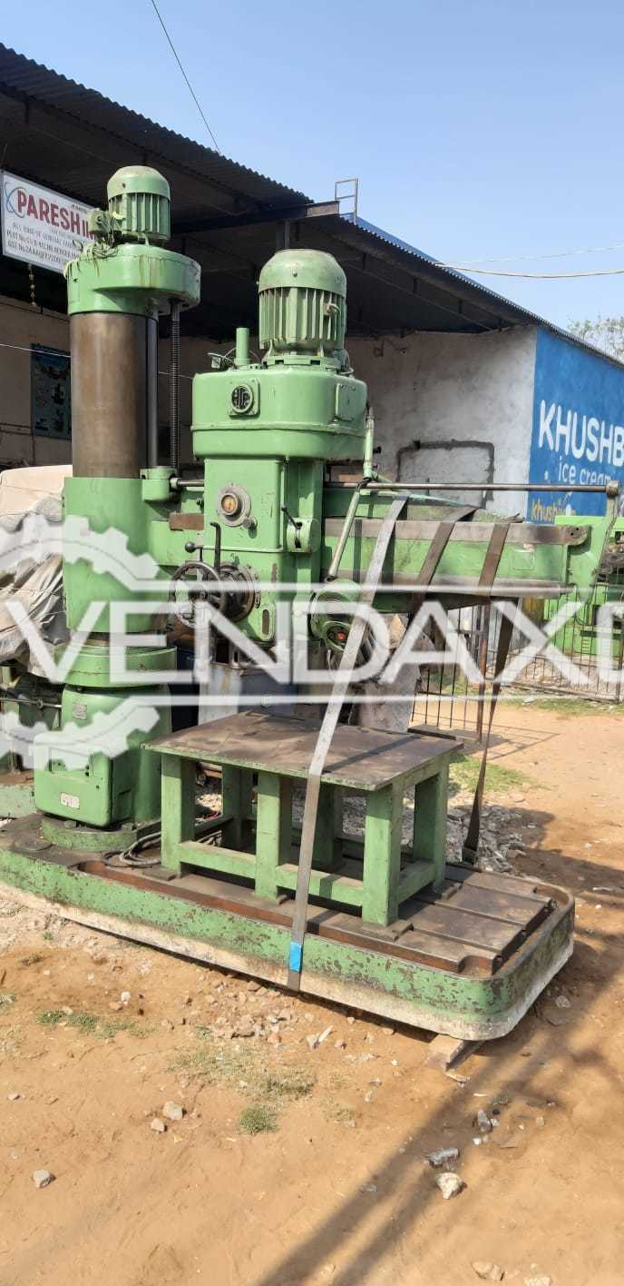 Indian Radial Drilling Machine - 60 mm