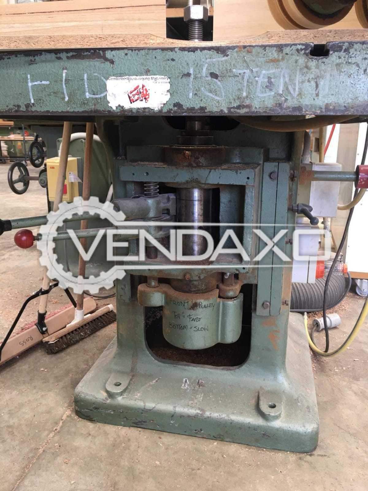 Spindle Moulder With 2 Pulley Speed Adjustment & Auto Feeder