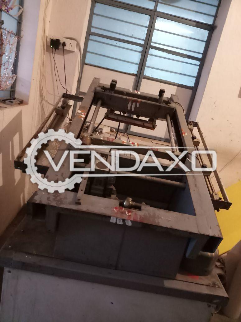 Cartonal Screen Printing Machine - 20 x 30 Inch
