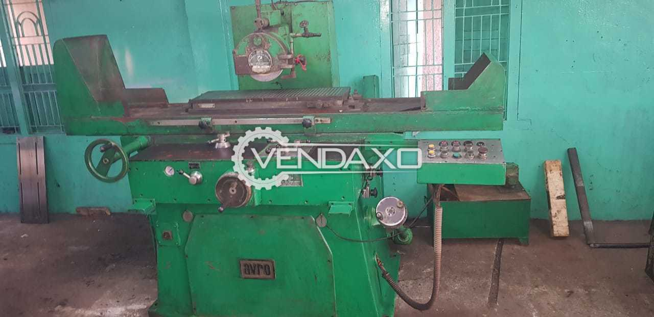 Avro Hydraulic Surface Grinding Machine - Magnetic Bed Size - 750 x 250 mm
