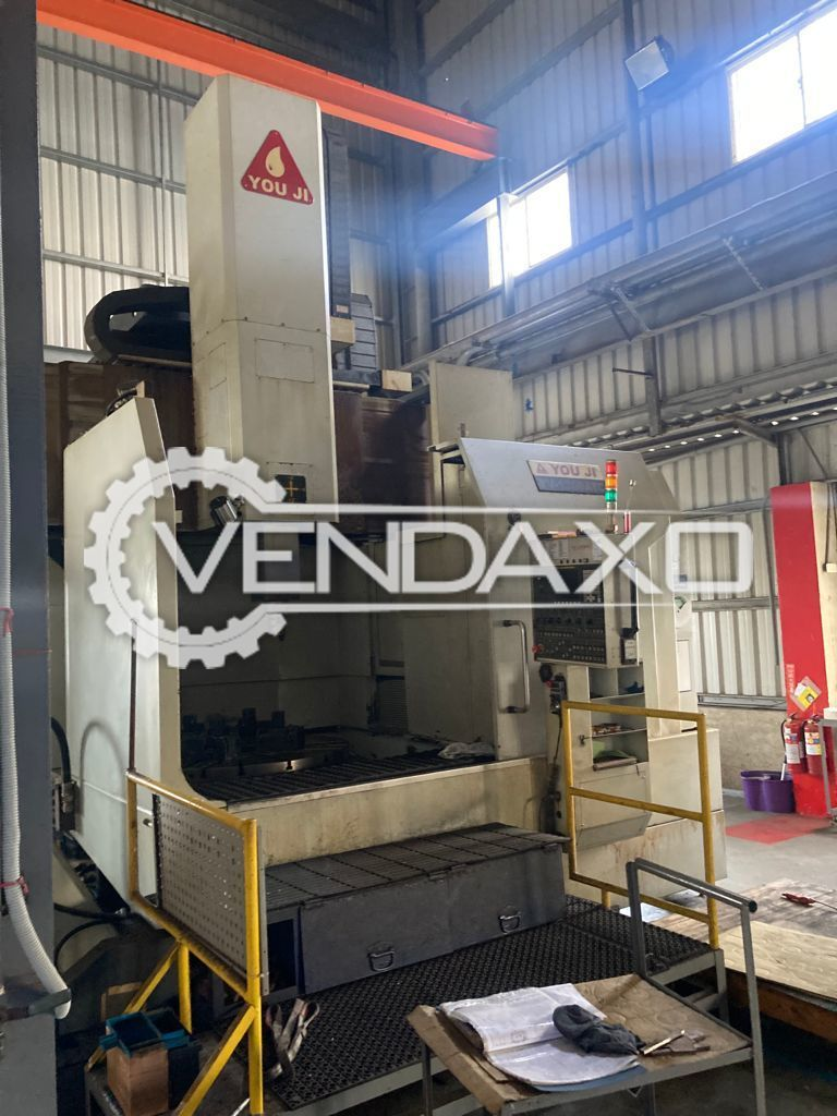 Youji YV-1200 CNC Vertical Turret Lathe VTL - Table Diameter - 1250 mm