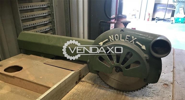 Nolex Radial Power Arm Saw Machine - 2 HP