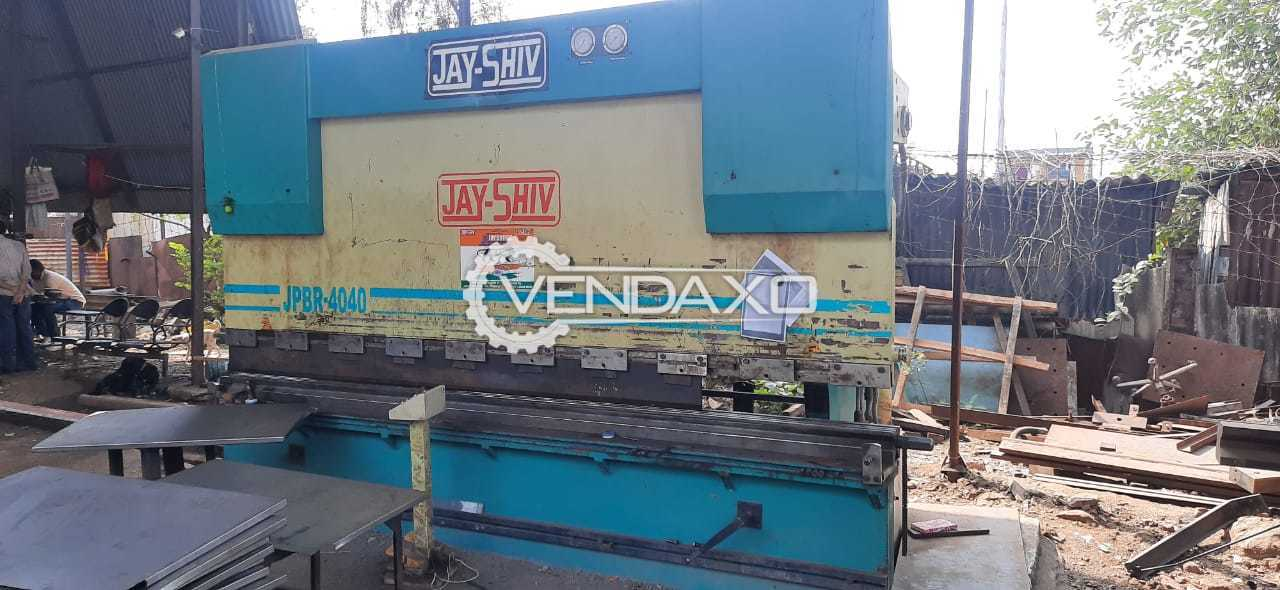 Jay-Shiv JPBR-4040 Press Brake - 4000 X 12 mm