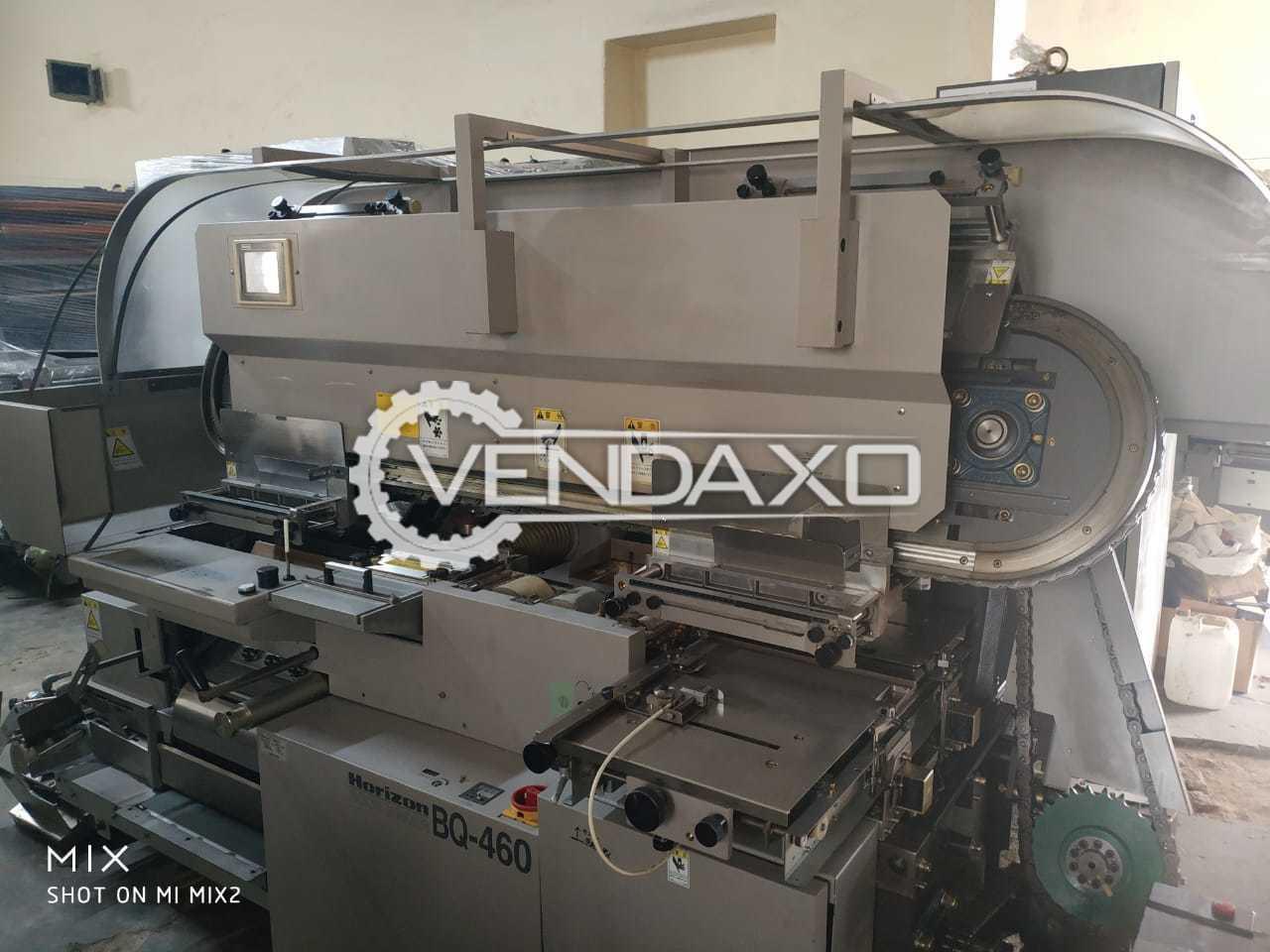 Horizon BQ 460 Perfect Binding Machine - 2005 Model