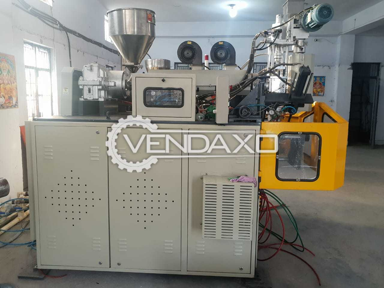 Jagmohan Blow Moulding Machine - Double Station, 2021 Model