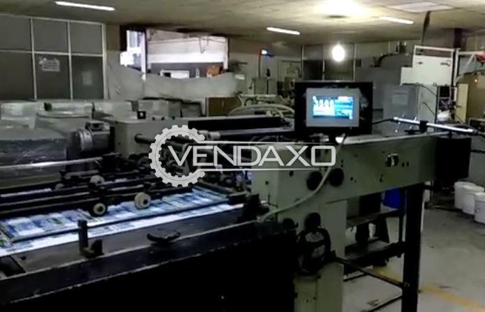 Indian Auto Punching Machine - 30 x 40 Inch