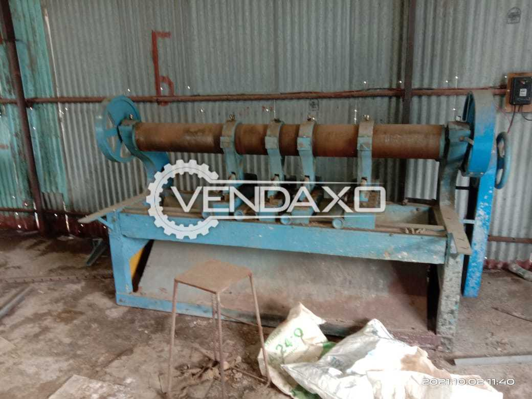 Corrugation, Reel to Sheet Cutter, Creasing, Eccentric Slotter, Pasting, Stitching, Stripping & Electrical panel with VFD - 2019 Model