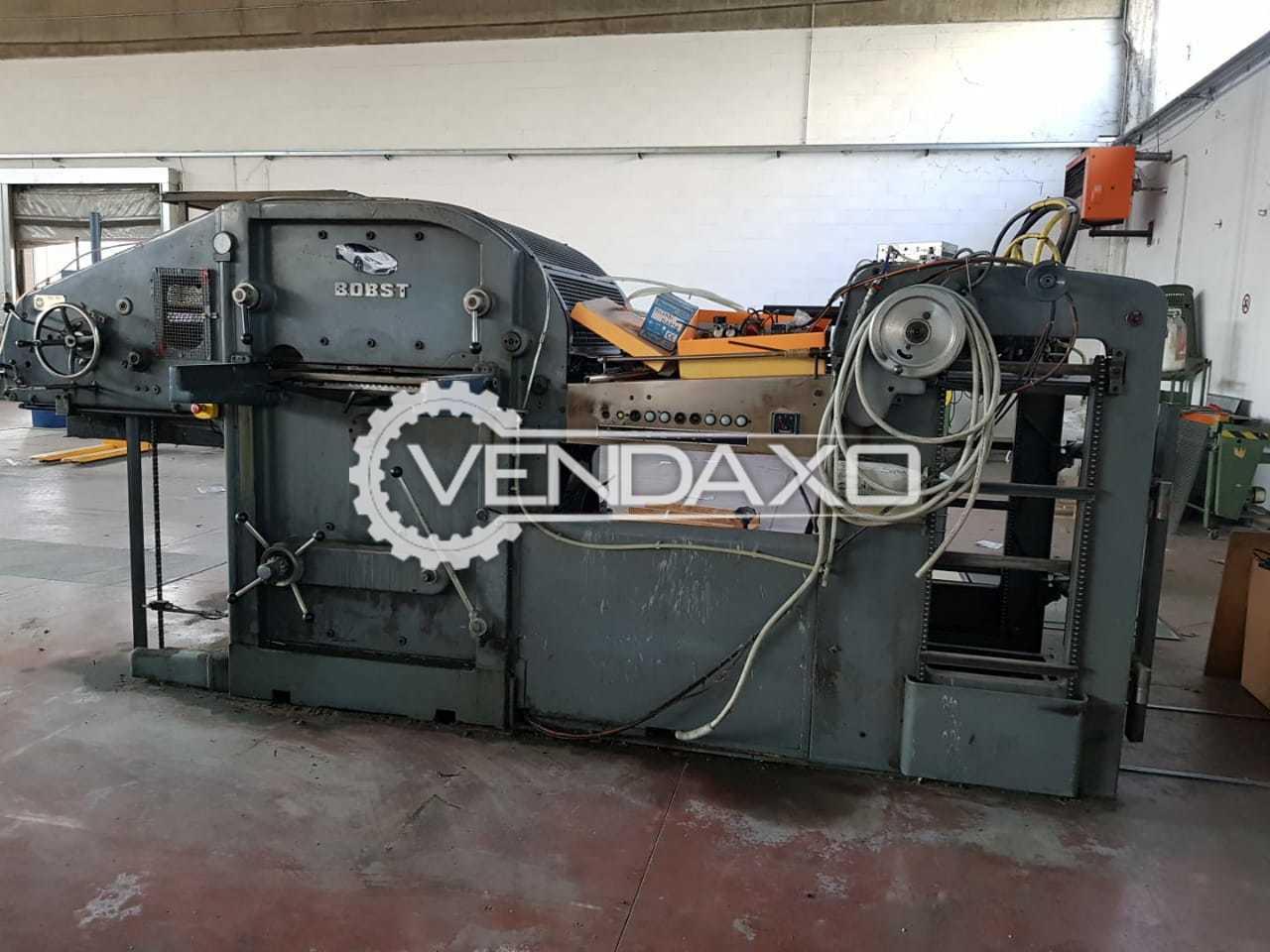 BOBST Auto Platine SP 1080-180T Die Cutter Machine - 1080 x 780 mm