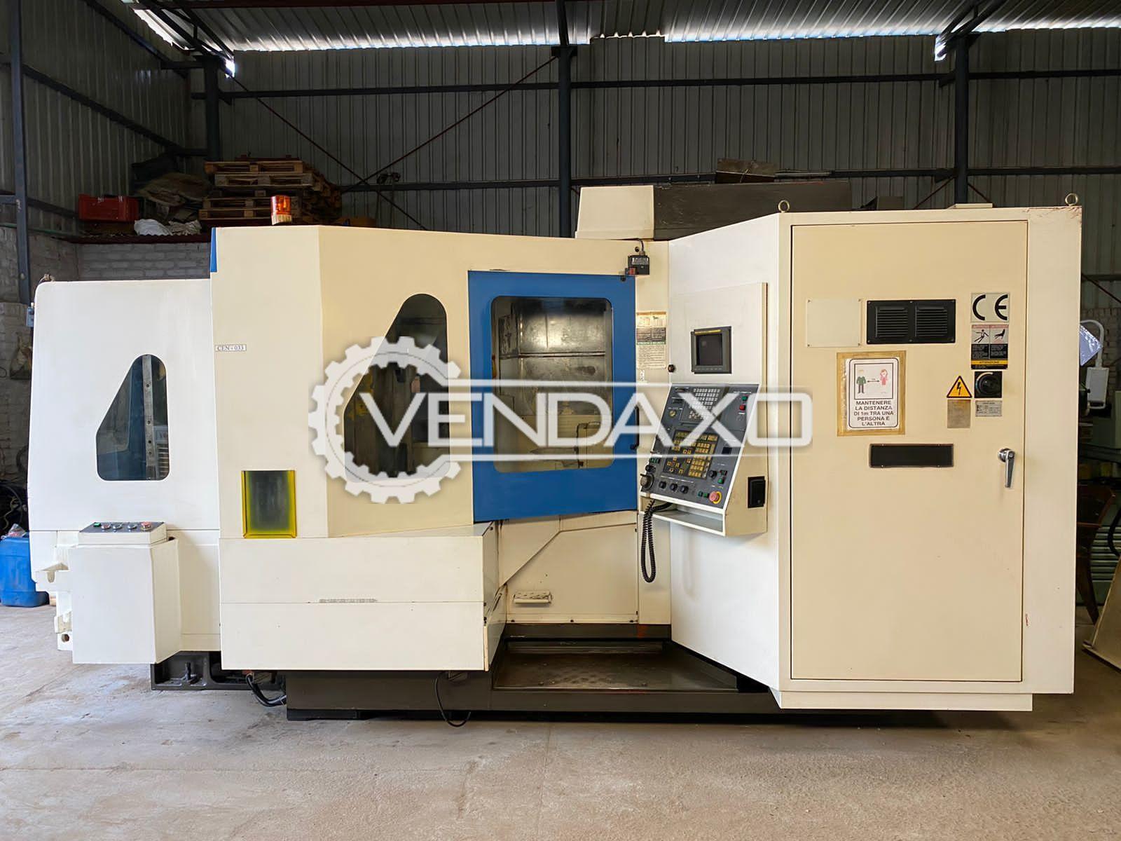 Kia H50 CNC Horizontal Machining Center HMC - Pallet Size - 500 x 500 mm