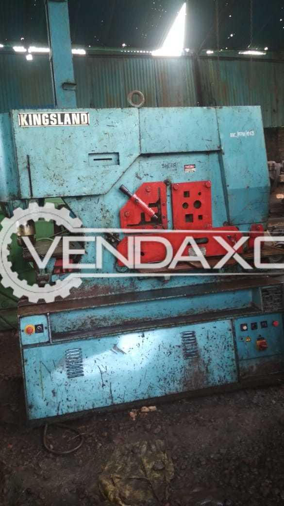 Kingsland 115XS Hydraulic Multiporpose Ironworker Machine - 115 Ton