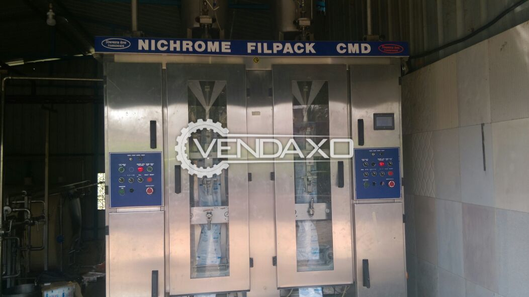 Nichrome Filpack-CMD Double Head Vertical Foam Fill Seal Machine
