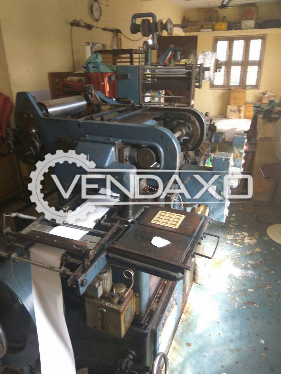 "Iwasaki Label Printing Machine - 5"" x 5"", 2-4 Color"