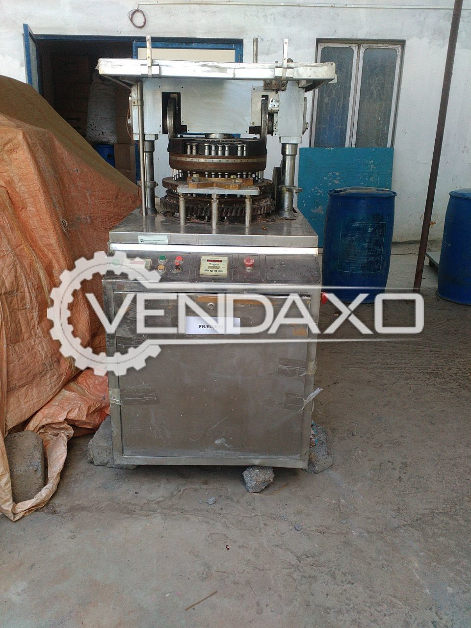 45 Station Tooling Tablet Machine