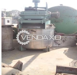 Non GMP Paste Vessel - 3 KL