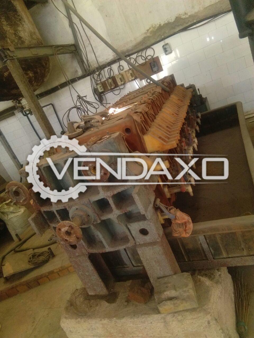 Hydraulic Filter Press - 24 Inch