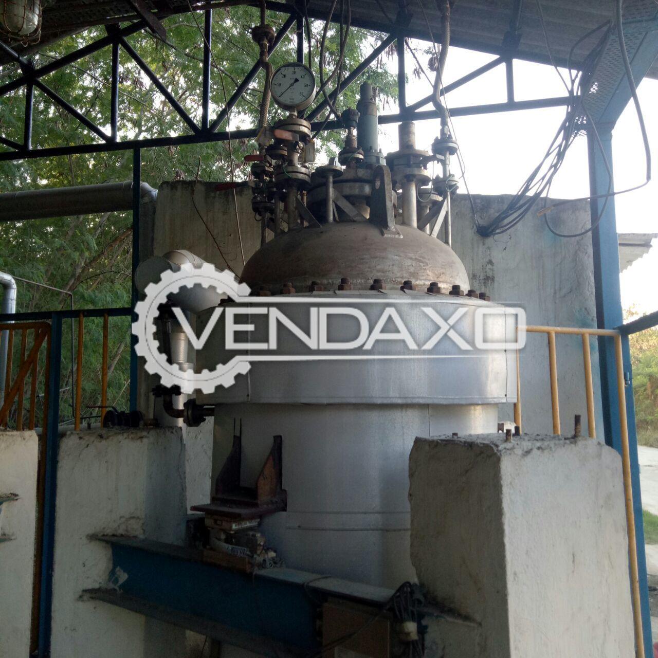 High Pressure Vessel - 850 Liter