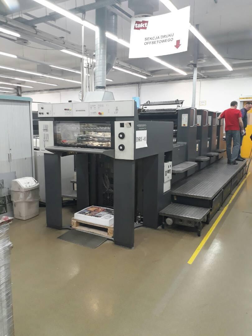 Printing Machine - Heidelberg SM-74-4-H