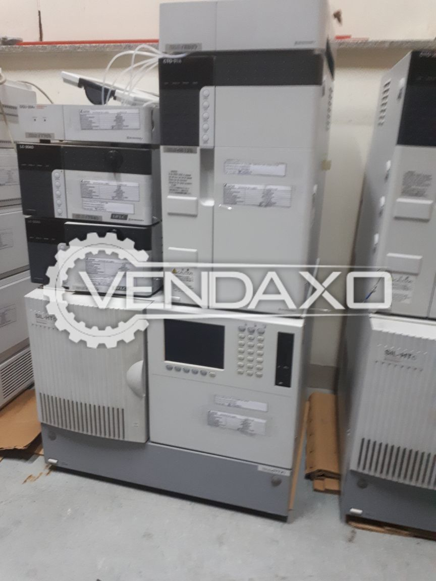 Shimadzu LC-20AD High Performance Liquid Chromatography (HPLC)