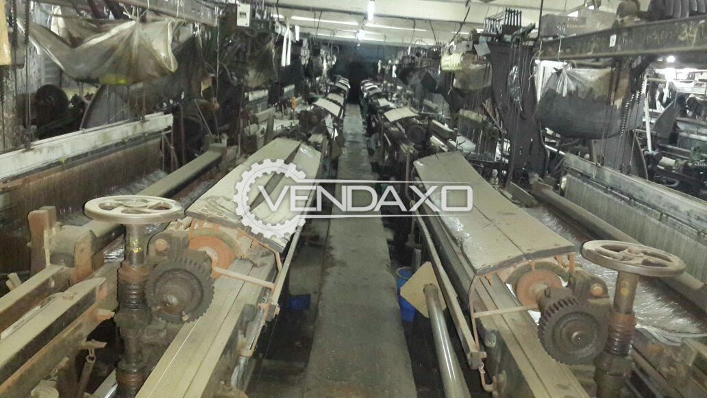 Used Single Shuttle Power Looms For Velvet - 40