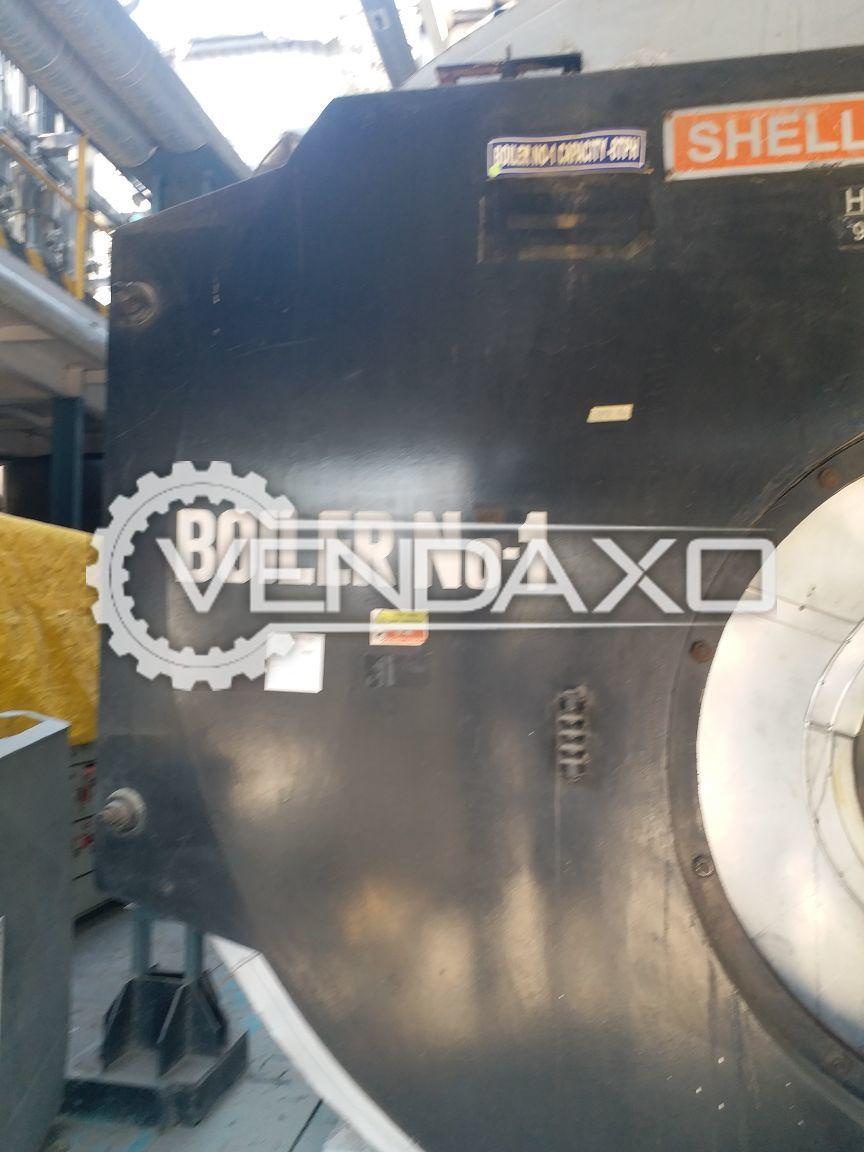 Shellmax SM-80A 3-Pass Smoke Tube Boiler - 8 TPH