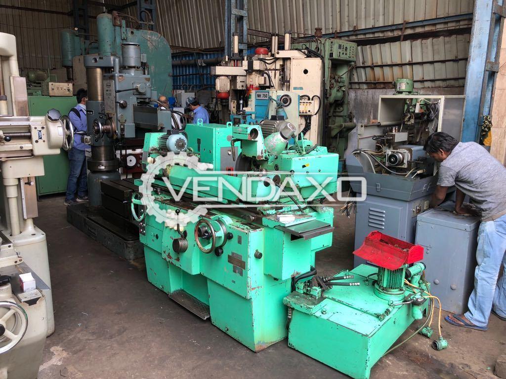 TOS Hostivar-BHU 25/630 Universal Cylindrical Grinder Machine