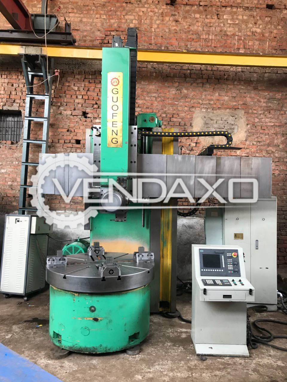 Dalian Guofeng CNC Vertical Turret Lathe Machine