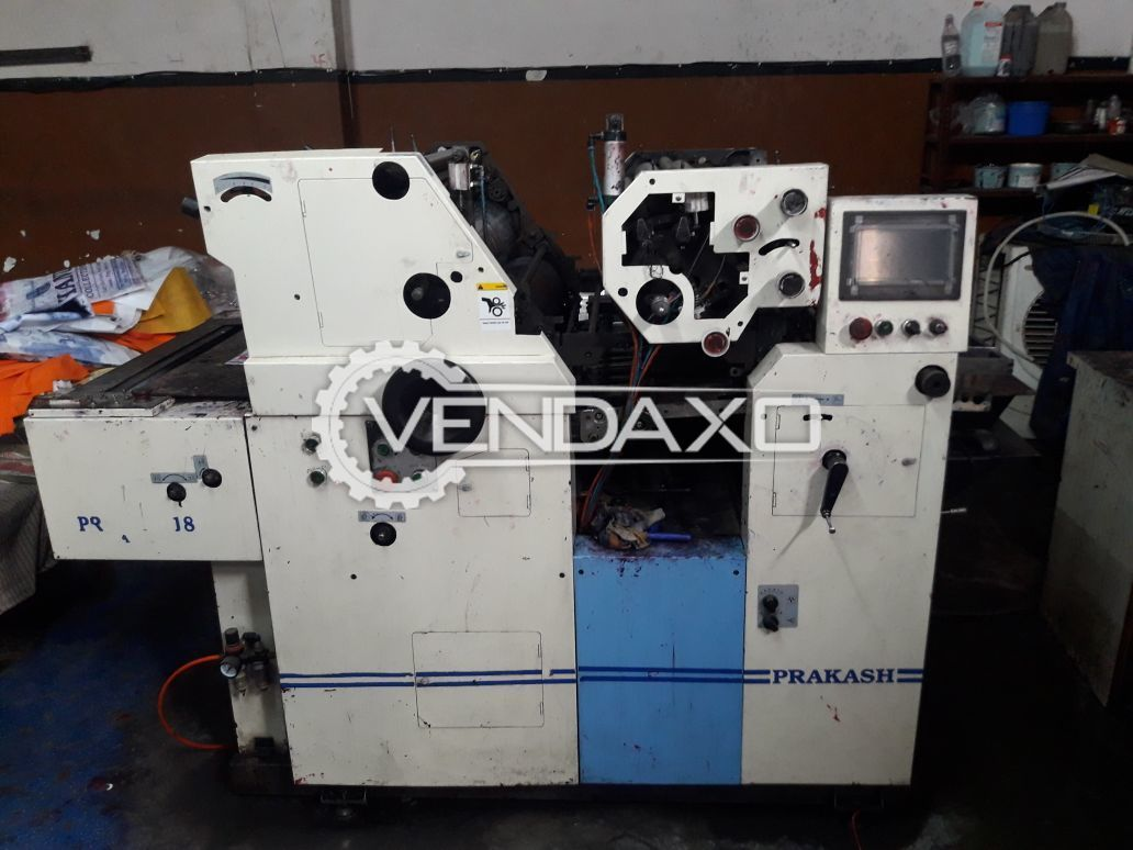 Prakash Automatic Non-Woven Bag Printing Machine - 2 Color