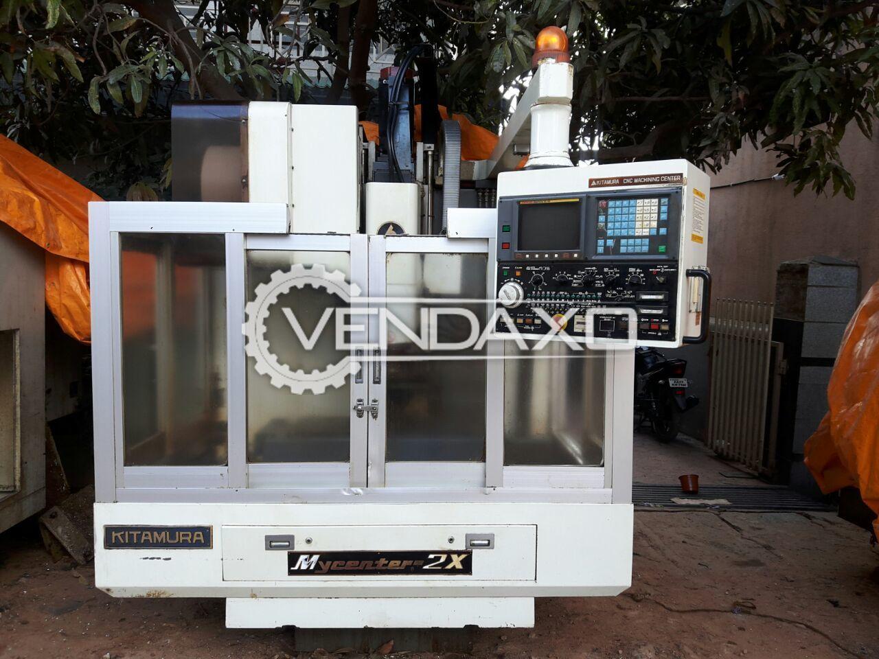 Kitamura My Center- 2X CNC Vertical Machining Center