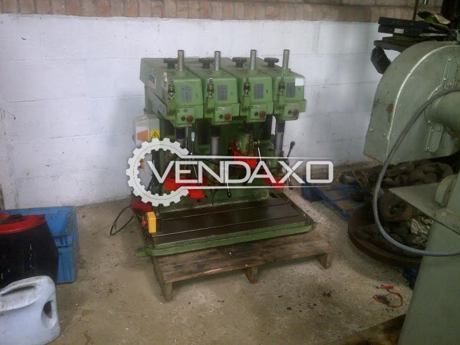 POLLARD Gang Drill Machine