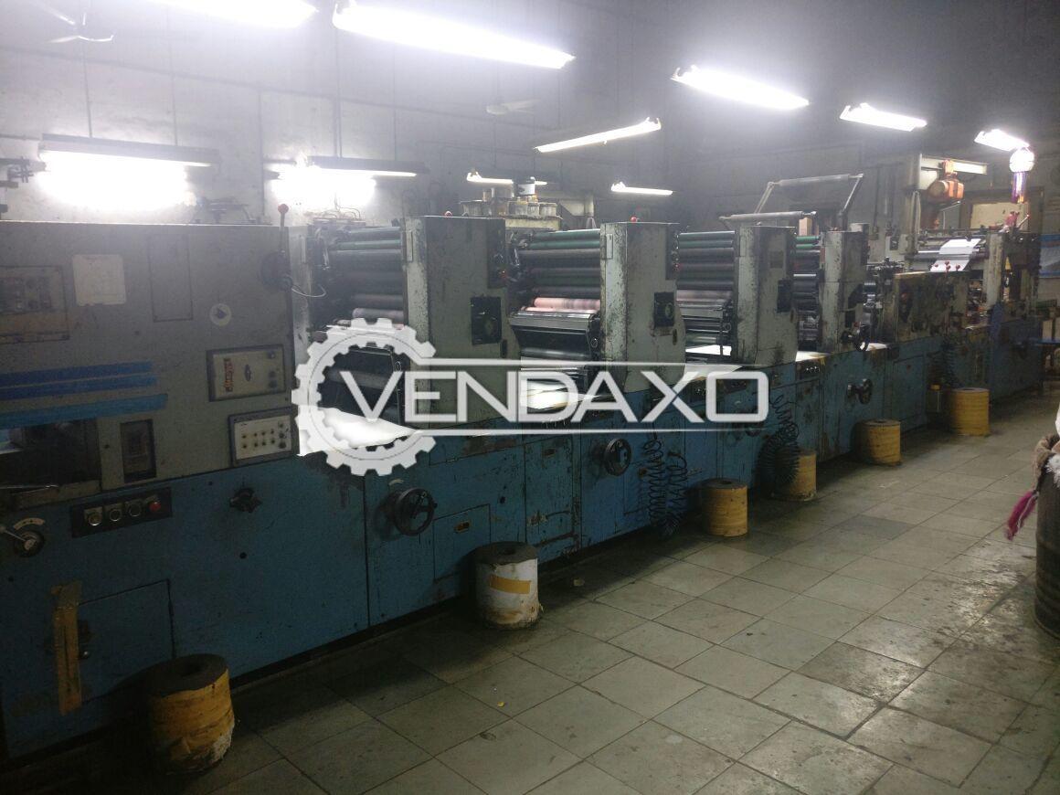 Taiyo Stationary Printing Machine - 100 Meter/Minute