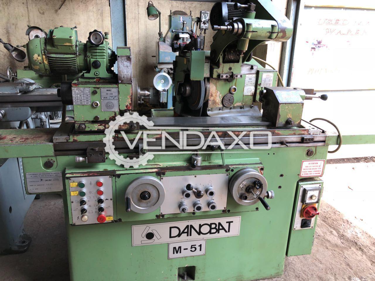 Danobat M-51 Cylindrical Grinding Machine