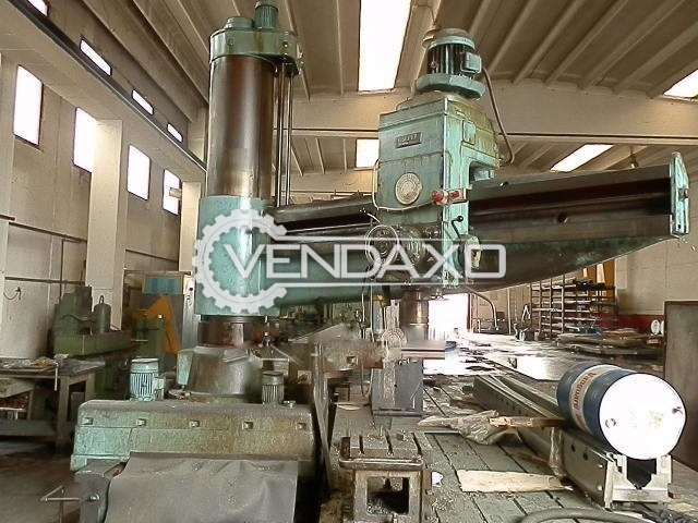 Csepel RFM-51 Radial Drill Machine, 100 - 120 MM