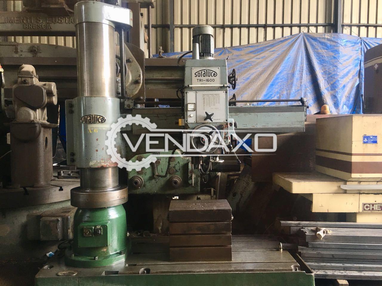 Soraluce TR1-1600 Radial Drill Machine