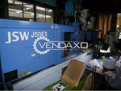 JSW 50 Plastic Injection Molding Machine -75 Ton