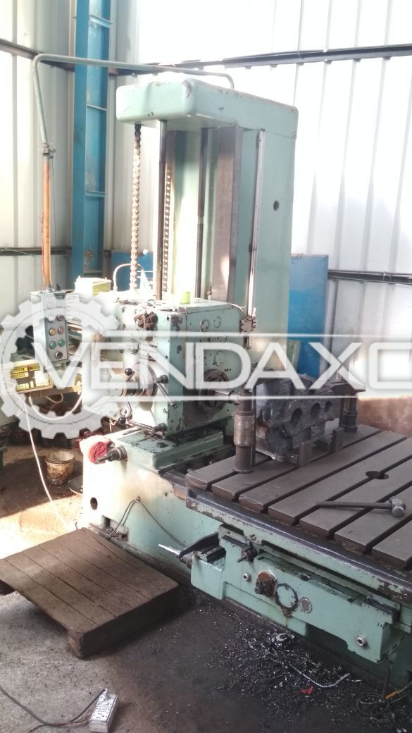 Juaristi Horizontal Floor Boring Machine - 80 MM