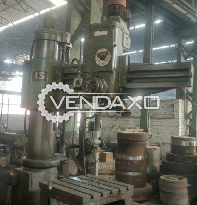 HMT RM-62 Radial Drill Machine, 50 - 60 MM
